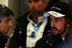 Peter Prodromou, Ingeniero Jefe de McLaren con Fernando Alonso, McLaren
