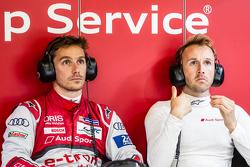 #9 Audi Sport Team Joest Audi R18 e-tron quattro: Filipe Albuquerque and René Rast