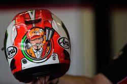 El casco Davide Giugliano, Ducati