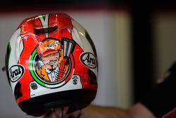 Le casque de Davide Giugliano, Ducati Team