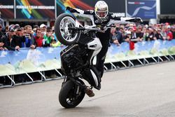 Chris Pfeiffer, cascadeur à moto