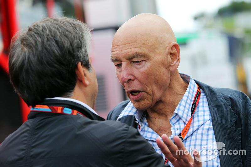 Паскуале Латтенедду, з FOM з Пітер Бребек-Летмат, Formula One Chairman
