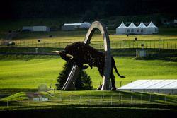 Red Bull Ring demir heykel