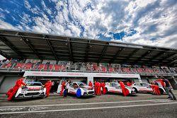 Citroën World Touring Car team area