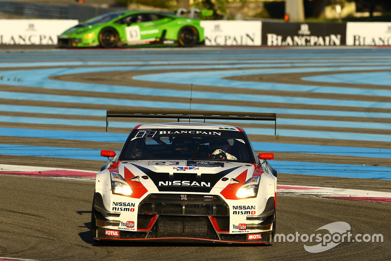 #23 Nissan GT Academy Team RJN, Nissan Motorsports, GT-R Nismo GT3: Katsumasa Chiyo, Wolfgang Reip,