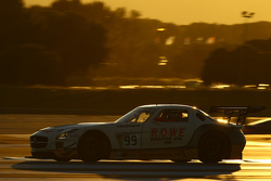 #99 Rowe Mercedes SLS AMG GT3: Nico Bastian, Thomas Jäger, Stef Dusseldorp