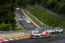 #62 Frikadelli Racing Team, Porsche 991 GT Cup America: Frank Kraling, Marc Gindorf, Christopher Brück