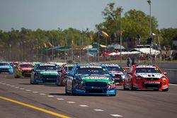 Start: Chaz Mostert, Prodrive Racing Avustralya Ford