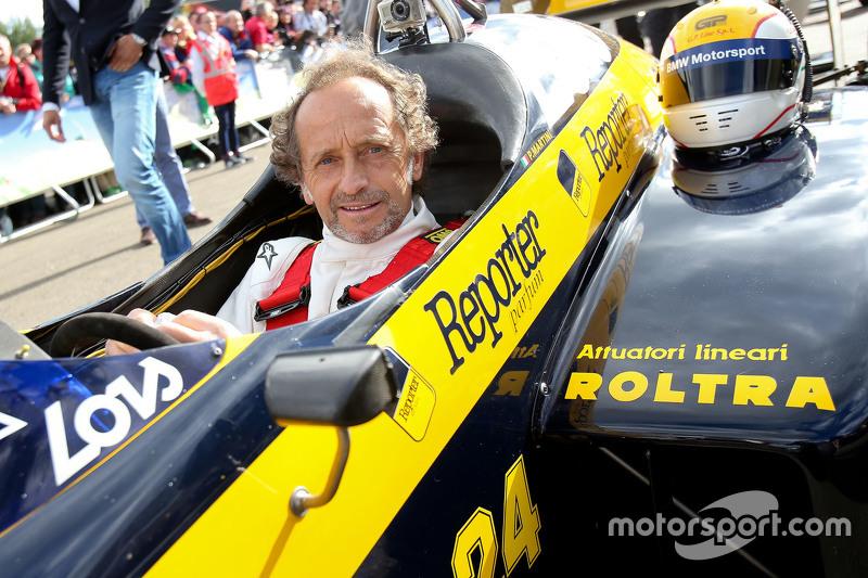 П'єрлуіджі Мартіні, в Minardi на Параді Легенд
