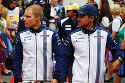 vobp ile Felipe Massa, Williams geçit töreninde