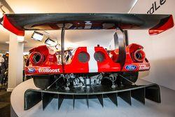 La nouvelle Ford GT aux spécifications GTE 2016, qui sera préparée par le Chip Ganassi Racing aux 24h du Mans 2016