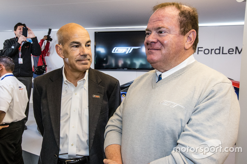 Scott Atherton, President and COO of IMSA and Chip Ganassi
