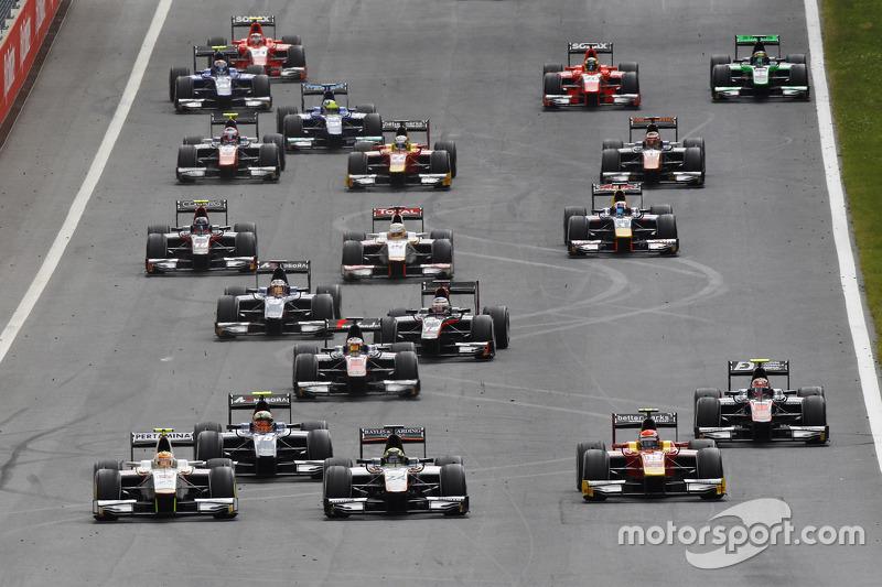 Rio Haryanto, Campos Racing, dari grid kedua berusaha merebut P1