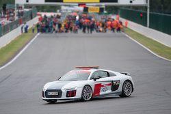 Audi güvenlik aracı
