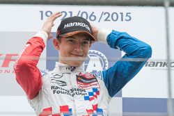 Race winner Jake Dennis, Prema Powerteam Dallara F312 - Mercedes-Benz