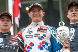Podyum: İkinci Charles Leclerc, Van Amersfoort Racing Dallara F312 - Volkswagen, Yarış galibi Jake D