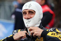 Alain Prost, lors de la parade des Légendes