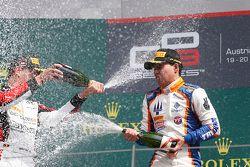Ganador de la carrera Oscar Tunjo, Trident