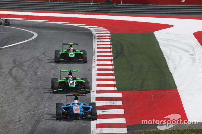 Матео Тушер, Jenzer Motorsport лідирує  Себ Морріс, Status Grand Prix
