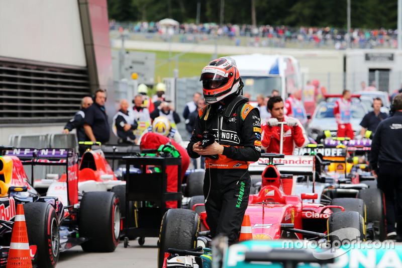 Нико Хюлькенберг, Sahara Force India F1 в закрытом парке