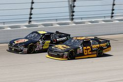 Darrell Wallace Jr., Roush Fenway Racing Ford and Brendan Gaughan, Richard Childress Racing Chevrole