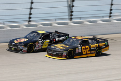 Darrell Wallace Jr., Roush Fenway Racing Ford and Brendan Gaughan, Richard Childress Racing Chevrole