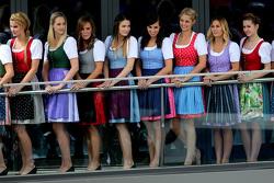 Adorabili ragazze austriache