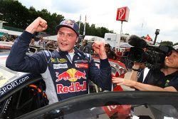 Race winner Davy Jeanney, Team Peugeot Hansen
