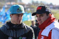 TCP driver Franco de Benedictis , dan Mariano Werner, Werner Competicion Ford