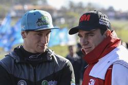Il pilota TCP Franco de Benedictis e Mariano Werner, Werner Competicion Ford