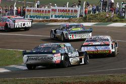 Lionel Ugalde, Ugalde Competicion Ford; Sergio Alaux, Coiro Dole Racing Chevrolet e Diego de Carlo, JC Competicion Chevrolet