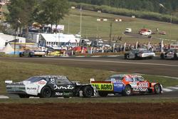 Jonatan Castellano, Castellano Power Team Dodge and Laureano Campanera, Donto Racing Chevrolet