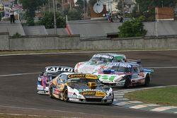 Leonel Pernia, Las Toscas Racing Chevrolet; Emanuel Moriatis, Alifraco Sport Ford; Mathias Nolesi, N