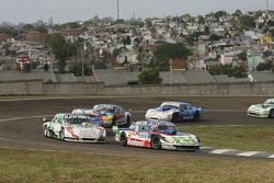 Mathias Nolesi, Nolesi Competicion Ford and Santiago Mangoni, Laboritto Jrs Torino and Matias Rodriguez, UR Racing Dodge and Luis Jose di Palma, Indecar Racing Torino and Federico Alonso, Taco Competicion Torino