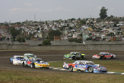 Matias Rodriguez, UR Racing Dodge and Luis Jose di Palma, Indecar Racing Torino and Federico Alonso, Taco Competicion Torino