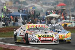 Sergio Alaux, Coiro Dole Racing Chevrolet, dan Luis Jose di Palma, Indecar Racing Torino