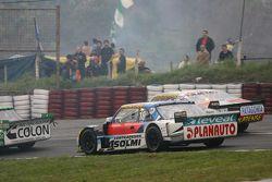 Luis Jose di Palma, Indecar Racing Torino and Sergio Alaux, Coiro Dole Racing Chevrolet