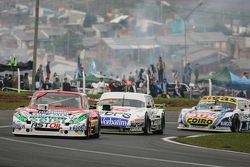 Juan Pablo Gianini, JPG Racing, Ford; Leonel Sotro, Alifraco Sport, Ford, und Mauricio Lambiris, Coi