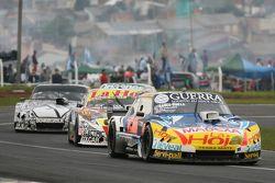Luis Jose di Palma, Indecar Racing Torino; Sergio Alaux, Coiro Dole Racing Chevrolet e Laureano Camp