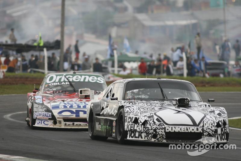 Laureano Campanera, Donto Racing Chevrolet, dan Camilo Echevarria, Coiro Dole Racing Torino