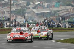Matias Rossi, Donto Racing Chevrolet e Juan Marcos Angelini, UR Racing Dodge