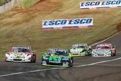 Mariano Werner, Werner Competicion, Ford; Mauro Giallombardo, Maquin Parts Racing, Ford; Omar Martin