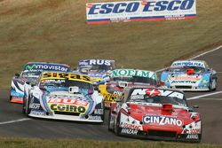 Matias Rossi, Donto Racing, Chevrolet; Mauricio Lambiris, Coiro Dole Racing, Torino; Nicolas Bonelli