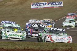 Santiago Mangoni, Laboritto Jrs Torino, Emiliano Spataro, UR Racing Dodge e Emanuel Moriatis, Alifra