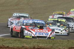 Guillermo Ortelli, JP Racing Chevrolet and Diego de Carlo, JC Competicion Chevrolet and Laureano Cam
