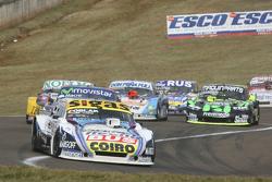 Mauricio Lambiris, Coiro Dole Racing Torino e Christian Ledesma, Jet Racing Chevrolet; Nicolas Bonel