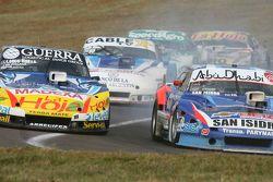 Luis Jose di Palma, Indecar Racing Torino and Matias Rodriguez, UR Racing Dodge and Federico Alonso,