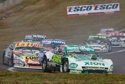 Emiliano Spataro, UR Racing, Dodge; Sergio Alaux, Coiro Dole Racing, Chevrolet, und Guillermo Ortell