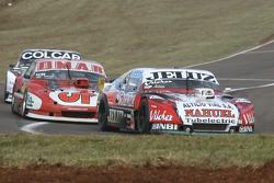 Pedro Gentile, JP Racing Chevrolet; Christian Dose, Dose Competicion Chevrolet e Gaston Mazzacane, C