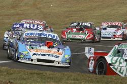 Martin Ponte, RUS Nero53 Racing Dodge; Gabriel Ponce de Leon, Ponce de Leon Competicion Ford; Juan M